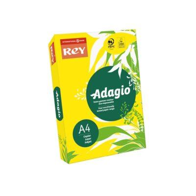 PHOTOCOPY PAPER ADAGIO A4 REAM BRIGHT YELLOW