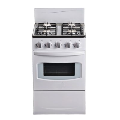 STOVE GAS WHITE 4 PLATE