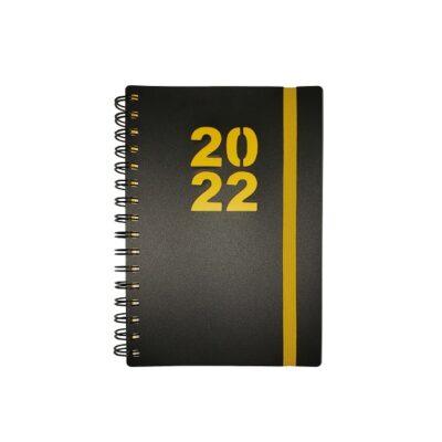 DIARY A5 WIRO 2022 YELLOW