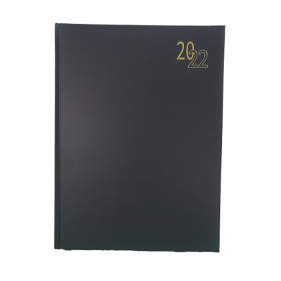 DIARY A4 REGENCY 2022 BLACK