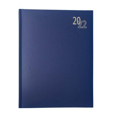 DIARY A4 REGENCY 2022 BLUE