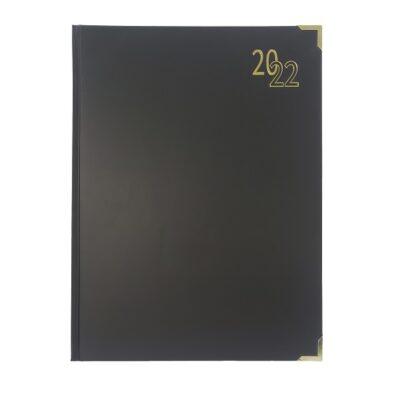 DIARY A4 EXECUTIVE 2022 BLACK