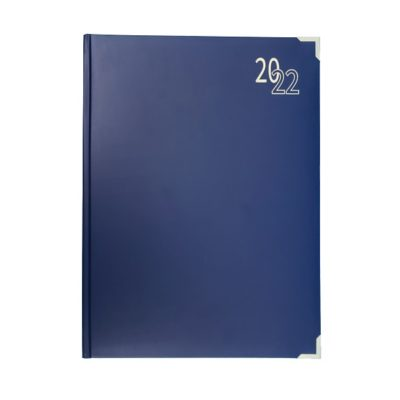 DIARY A4 EXECUTIVE 2022 BLUE