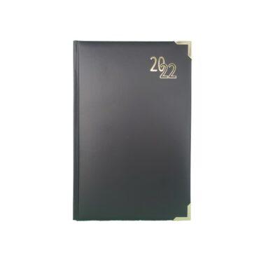 DIARY A5 EXECUTIVE 2022 BLACK