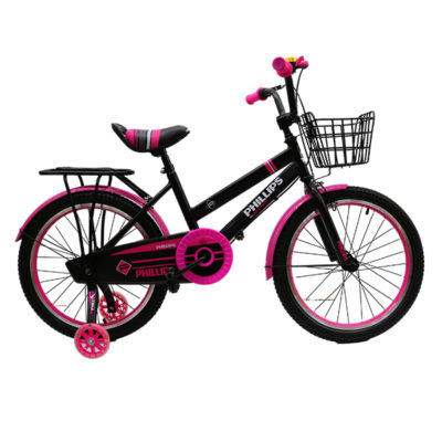 """BICYCLE BMX PHILLIPS 20"""" PINK AND BLACK"""