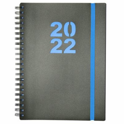 DIARY A4 WIRO 2022 BLUE