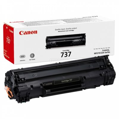 TONER CARTRIDGE 737 BLACK CANON @ (Available On Order Only)