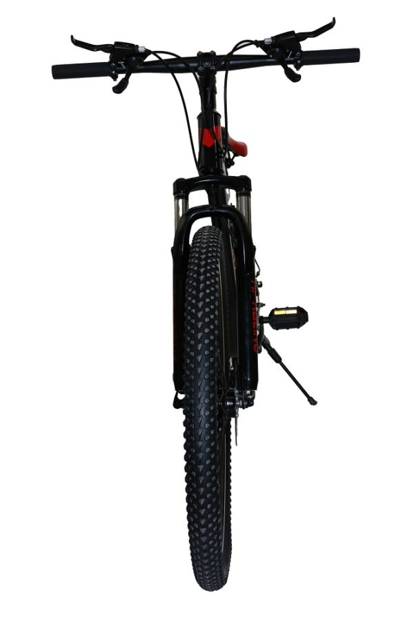 """Front image of MTB RACING 26"""" BLACK"""
